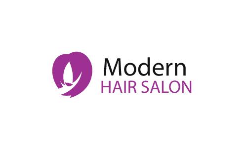Hair And Nail Salon Logo Design