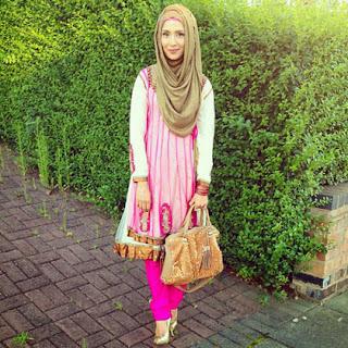Gambar Busana Muslim Terbaru 2014 Detail Payet Trend Jilbab Baru