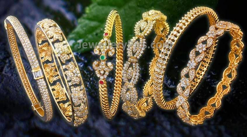 kirtilal diamonds bangle collection 2015
