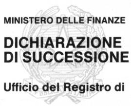Ecogeom s r l la dichiarazione di successione - Successione catasto ...