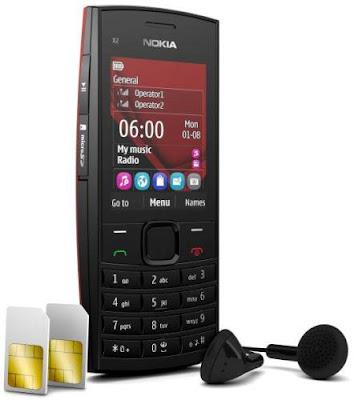 new Nokia X2-02