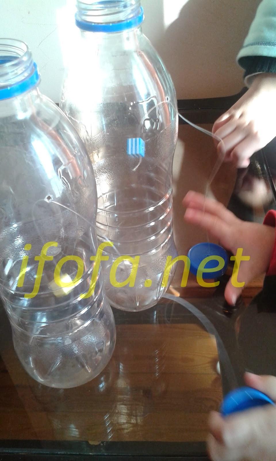 منتسوري تعلم مهارة فتح و غلق الزجاجة من سن 18 شهر