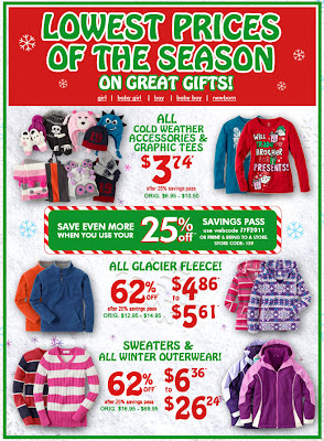 Click to view this Dec. 13, 2011 The Children's Place email full-sized
