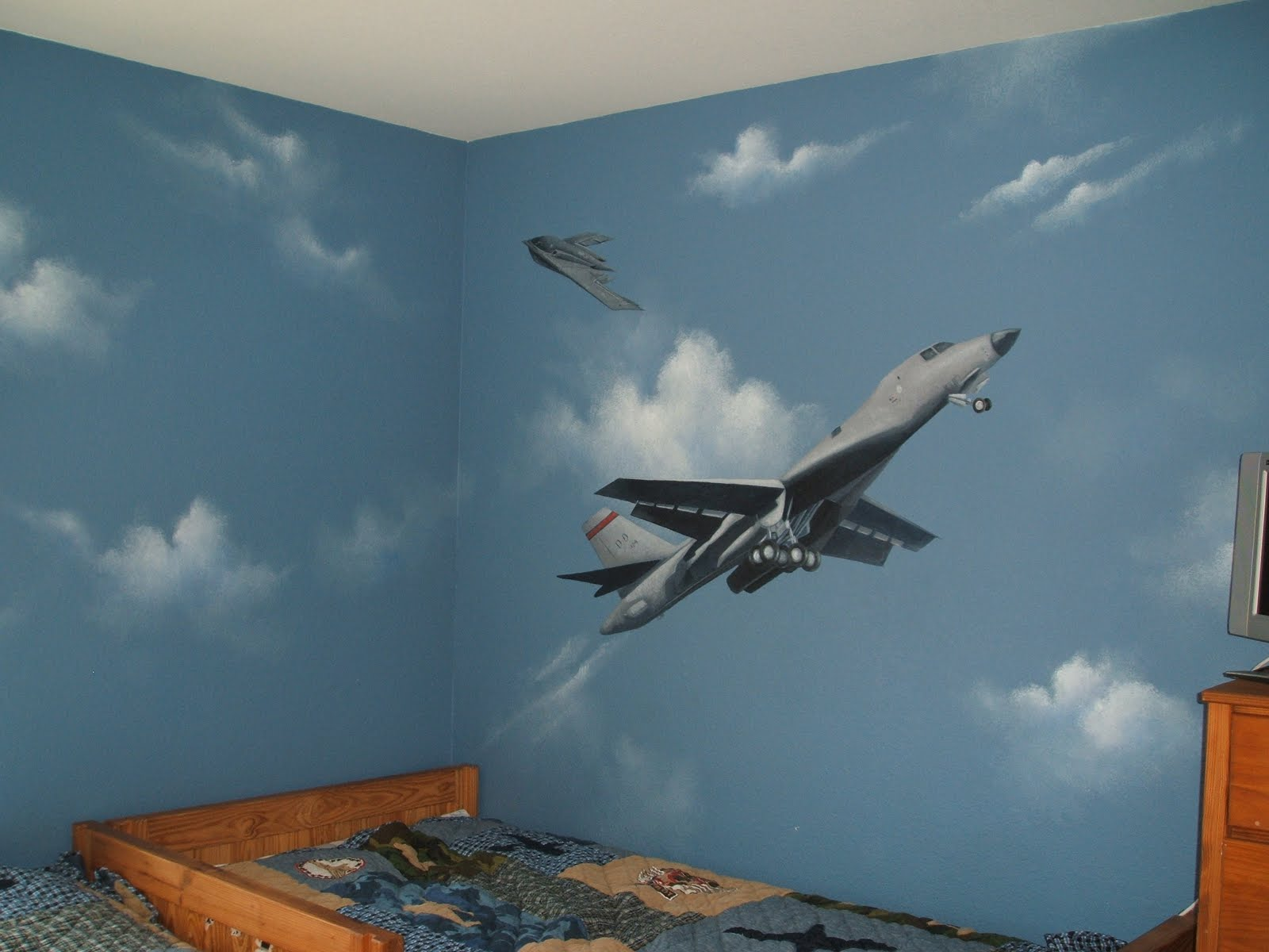 the dream painter wall murals hand painted wall murals a dream come true