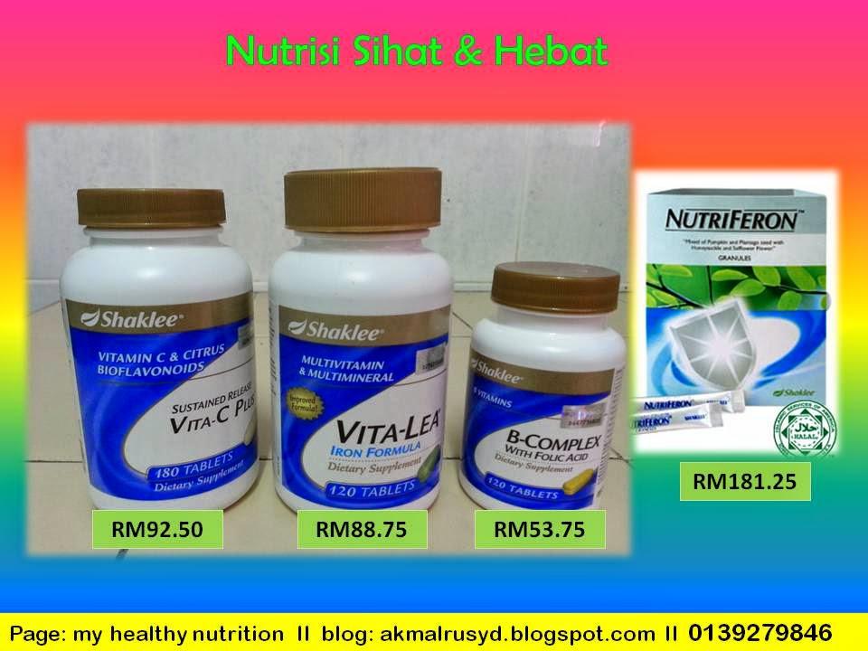 Vita-Lea, B-complex, Vitamin C, Nutriferon