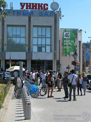 велопарковка у Казанского  университета
