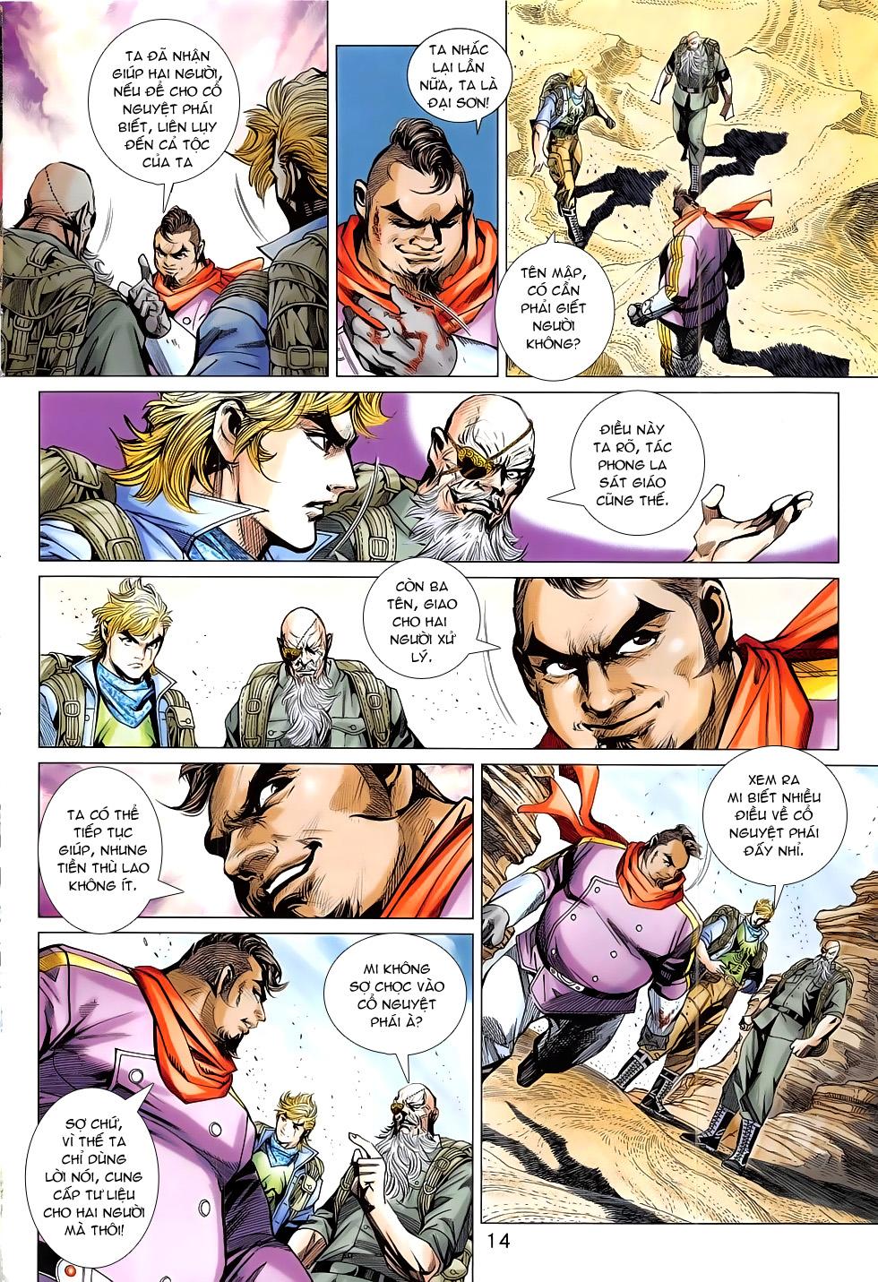 Tân Tác Long Hổ Môn chap 793 Trang 14 - Mangak.info