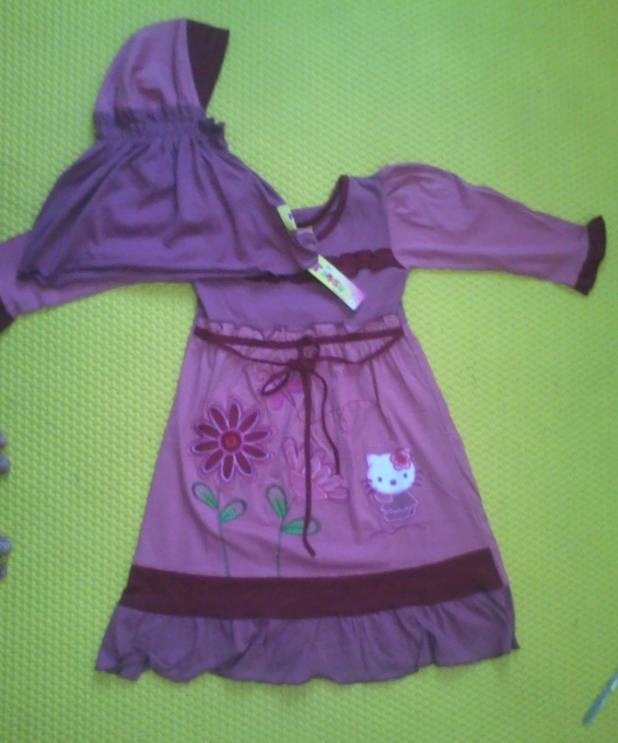 Fashion Baju Gamis Anak Anak Merek Pinson