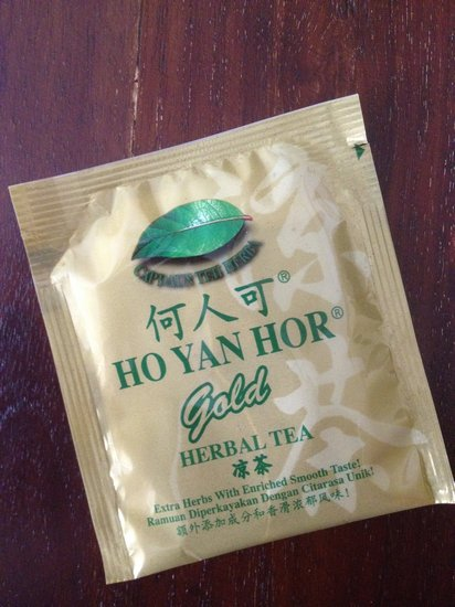 hor yan hor gold herbal tea packet malaysia
