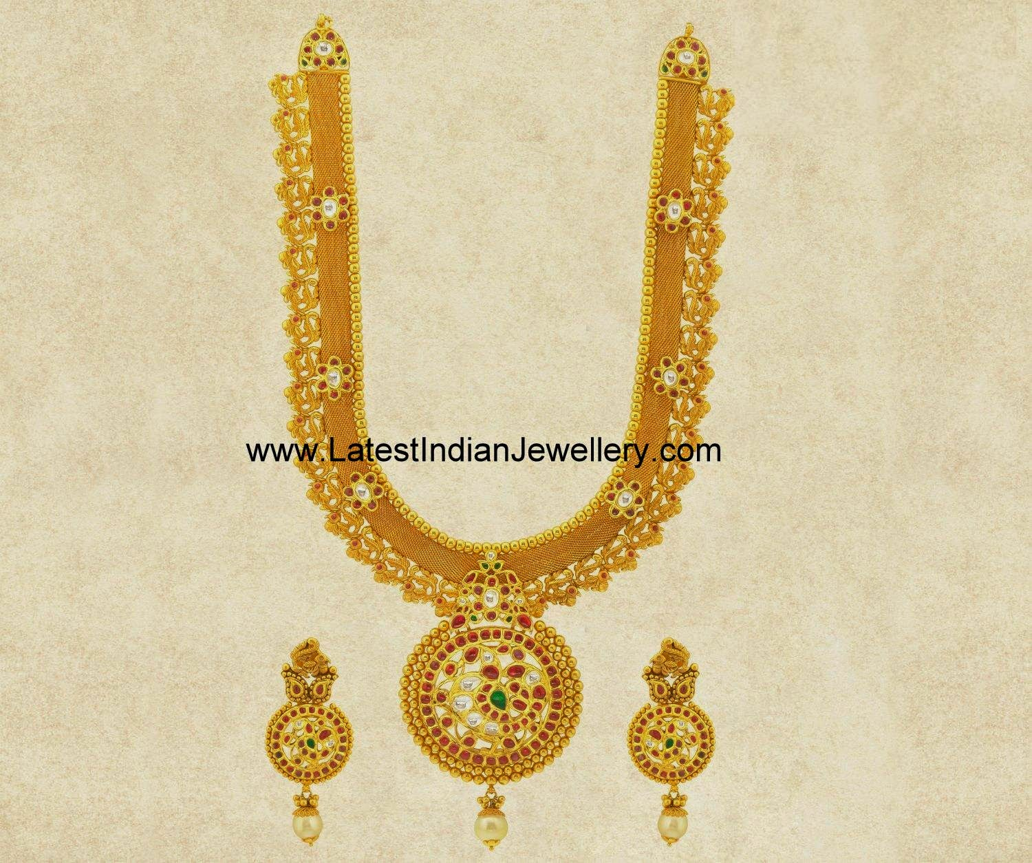 grand designer Indian gold haram