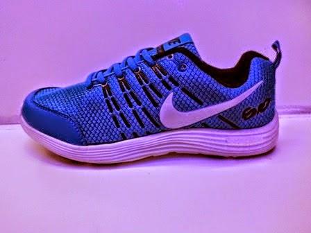 Nike Compete biru,Nike Running,Nike import murah,Nike Santai.