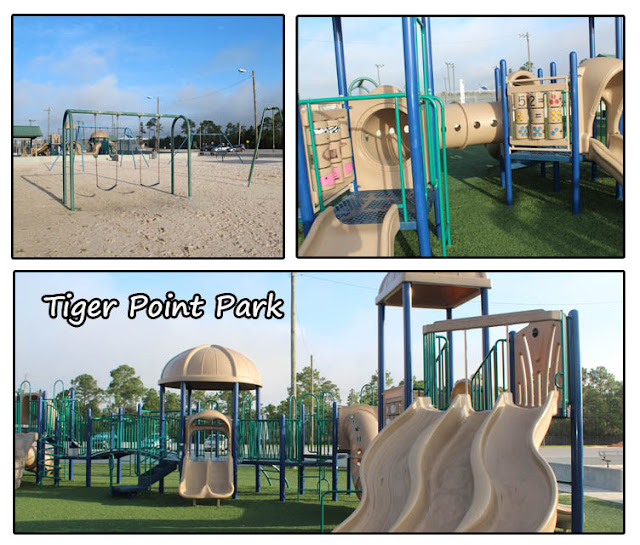 Playground in Gulf Breeze at Tiger Point