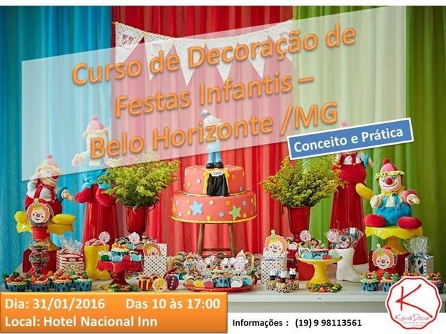 Curso Decoração Festa infantil - Kemel Decor