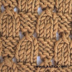 Knitting Pattern Says No Stitch : knitca: Nice stitch pattern for a wrap scarf