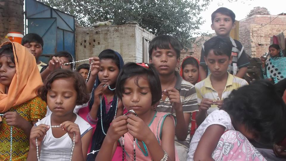 childrens rosary hear from the children