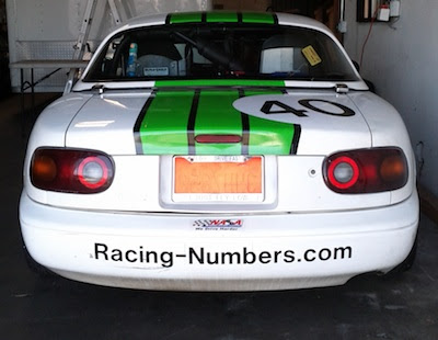 Racing-numbers.com sponsors my race car Wasabi