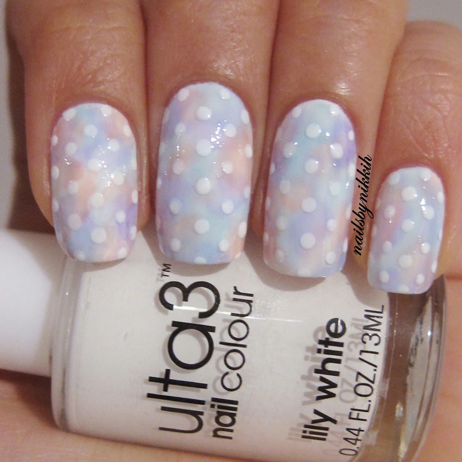 The Nail Art Trend: [Tutorial] Watercolour nails w/ ulta3