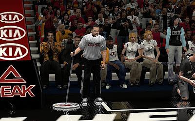 NBA 2K13 Sideline Characters Mod