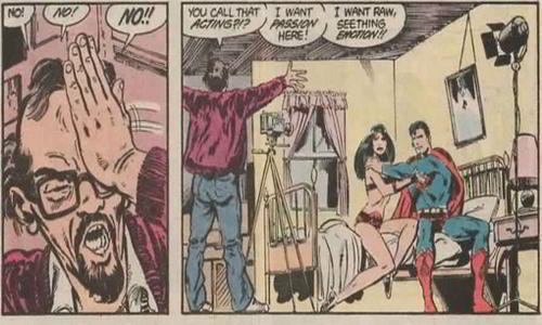 Superman and Big Barda Made sex tape