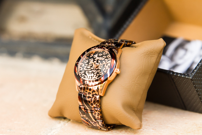 Fashion trend animal print watches