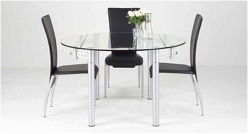 Dining room sets for small spaces at uniquedinetteny com for Dining table for small spaces modern