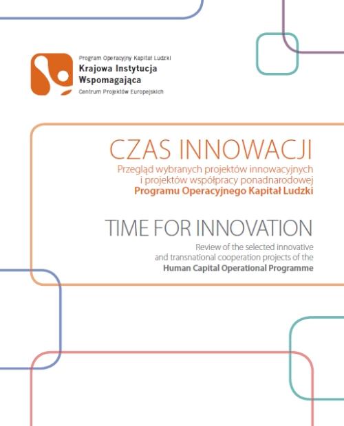 """Okładka publikacji """"Czas Innowacji"""""""
