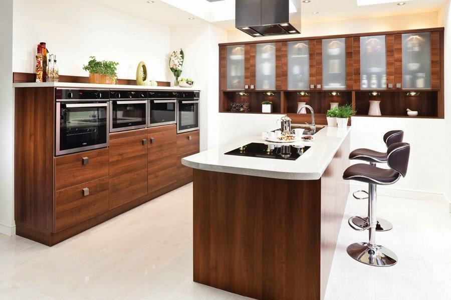 Ideas de Islas para Cocinas Modernas para Cocinas de gran Diseño ...