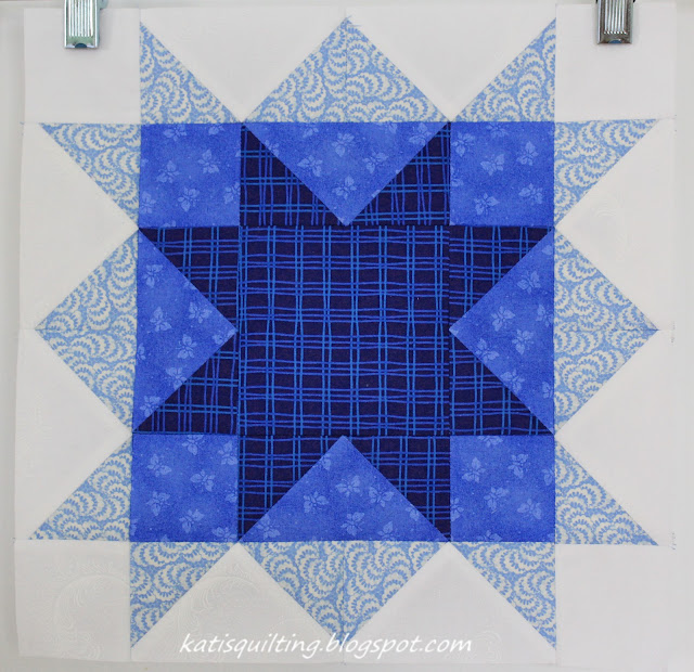 Ohio Star Craftsy block