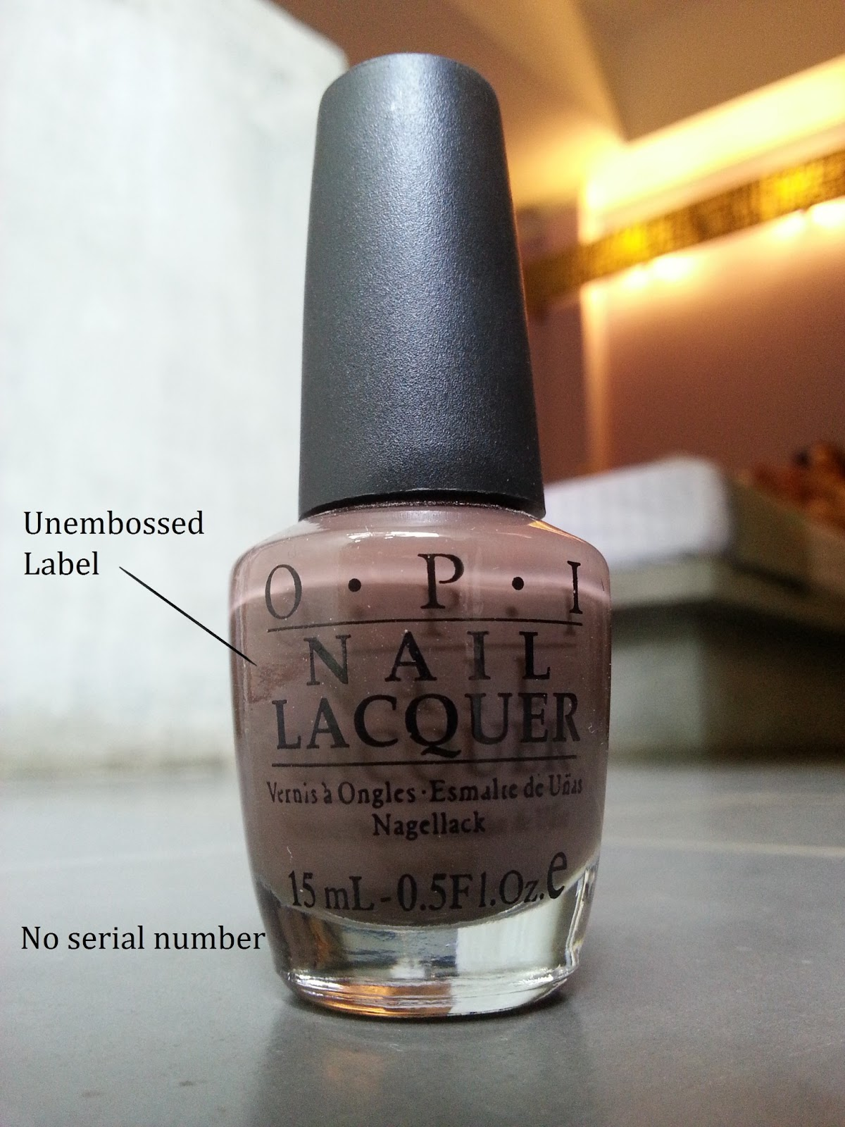 Sparkle and Rose: How To Spot a Faux-PI (fake OPI) nail polish