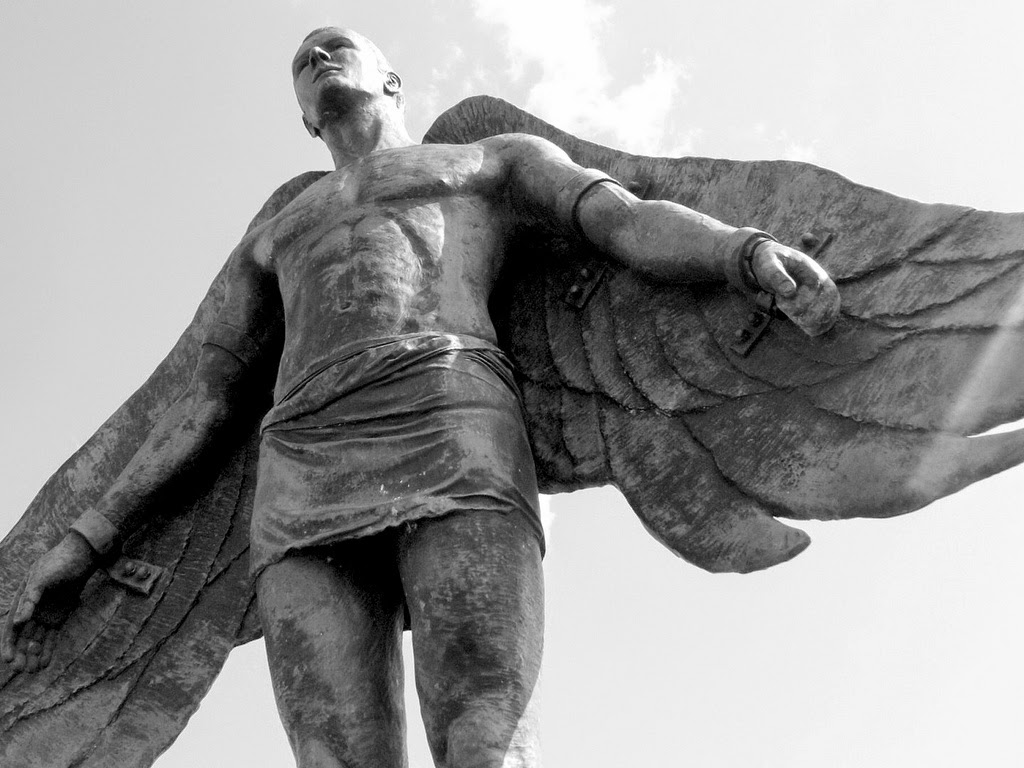 the myth of daedalus An explanation of the myth of icarus and daedalus with analysis.