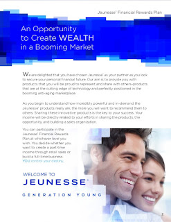 lifestyle rewards, how to choose MLM, marketing plan, matching bonus, leadership bonus, retail profit, free holiday, Jeunesse Global