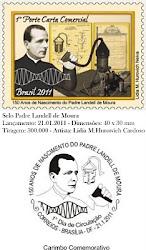 Selo Comemorativo 150 anos do Pe.Landell de Moura