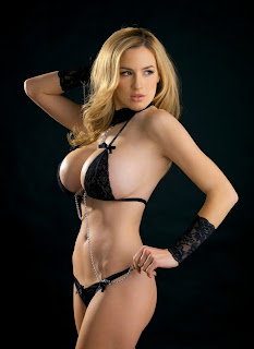 Sexy Model Jordan Carver Black Magic Photo Shoot.