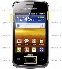 Cara Hard Reset Samsung Galaxy S Duos