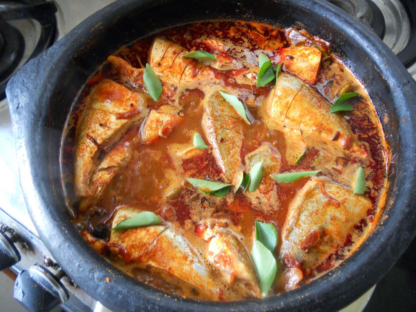 kerala style fish curry recipe