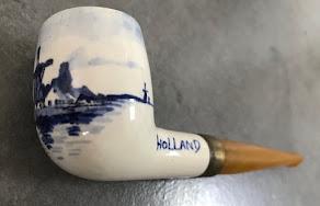 Une pipe néérlandaise en céramique