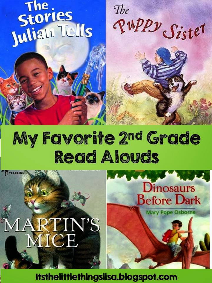 Its The Little Things My Favorite Second Grade Read Alouds