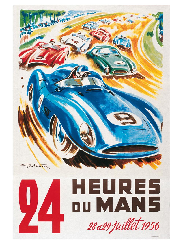 Previo 24h Le Mans 2013 - Carteles históricos | MotorSport ...