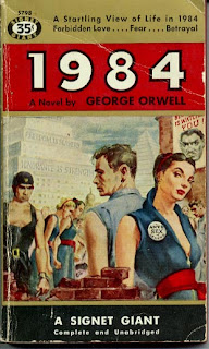 1984 by George Orwell paperback
