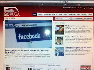 October 31, 2012:  We made it on GOP USA