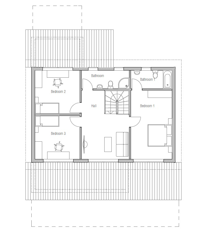Australian house plans australian house plan ch154 for Minimalist house designs australia