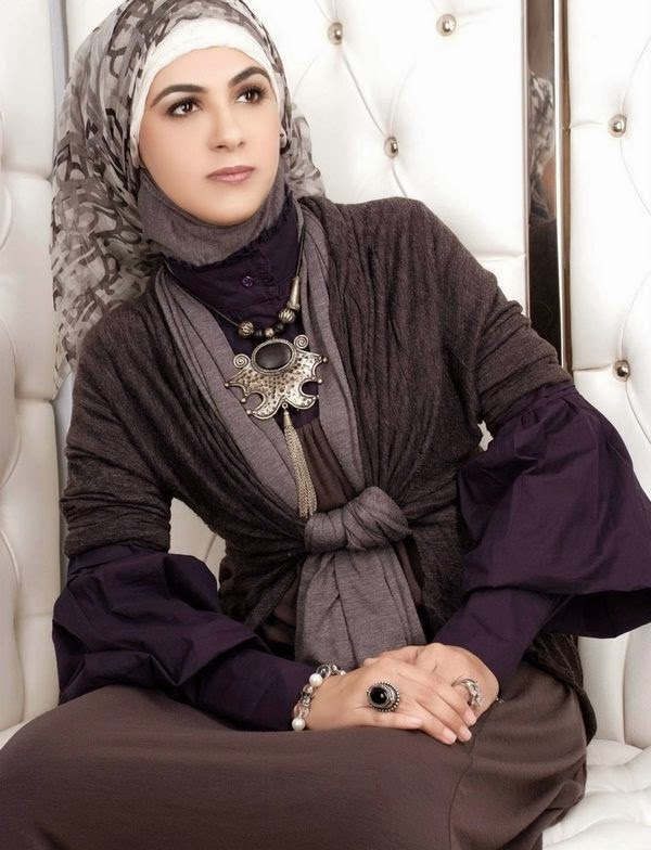 Hijab mode chic 2014