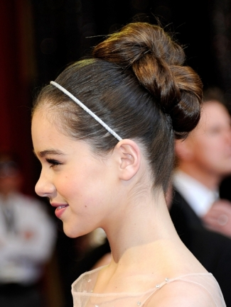 Famous Celebrity Updo Bun Hairstyle 5