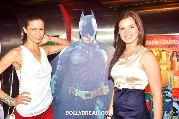 Sucheta Sharma, Urvashi Sharma - Bollywood & TV Celebs at the Premiere of 'The Dark Knight Rises'