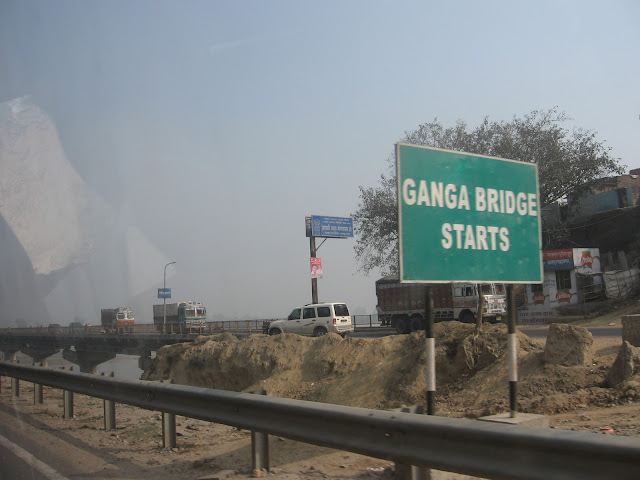 Ganga bridge near Kanpur