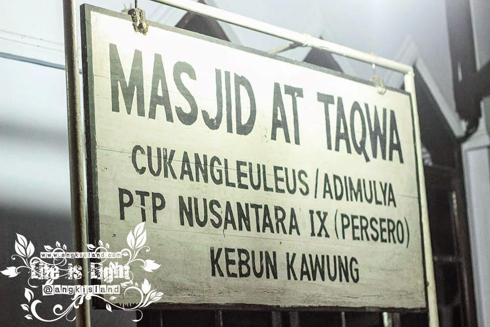 masjid takwa kebun kawung