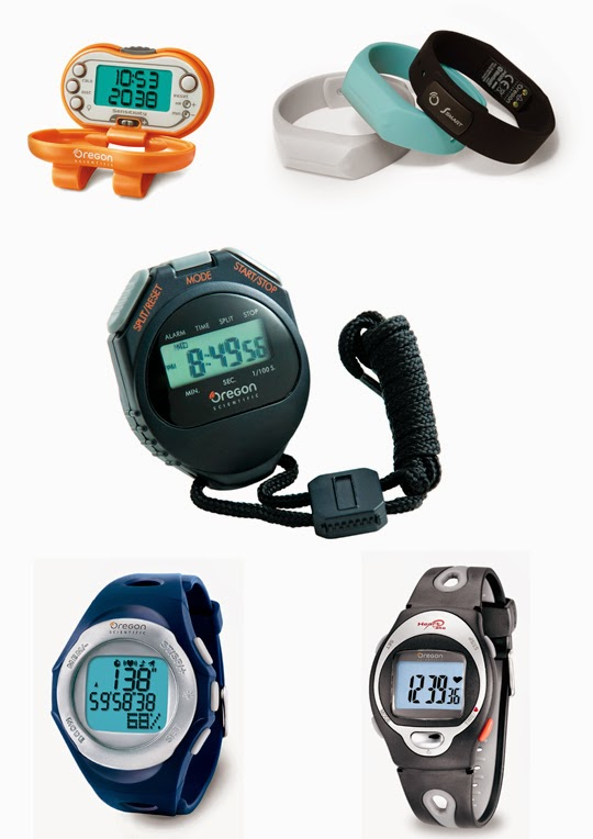 Podometros y cronómetros