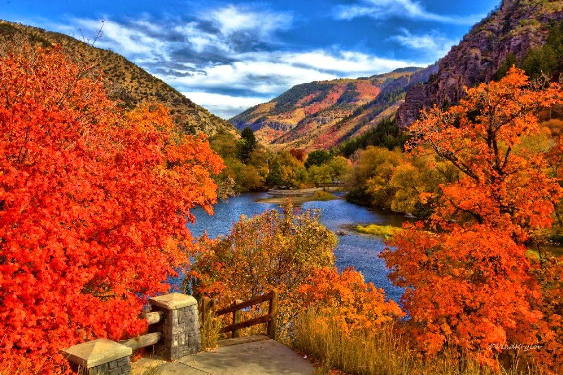 Fall Mountains Wallpaper