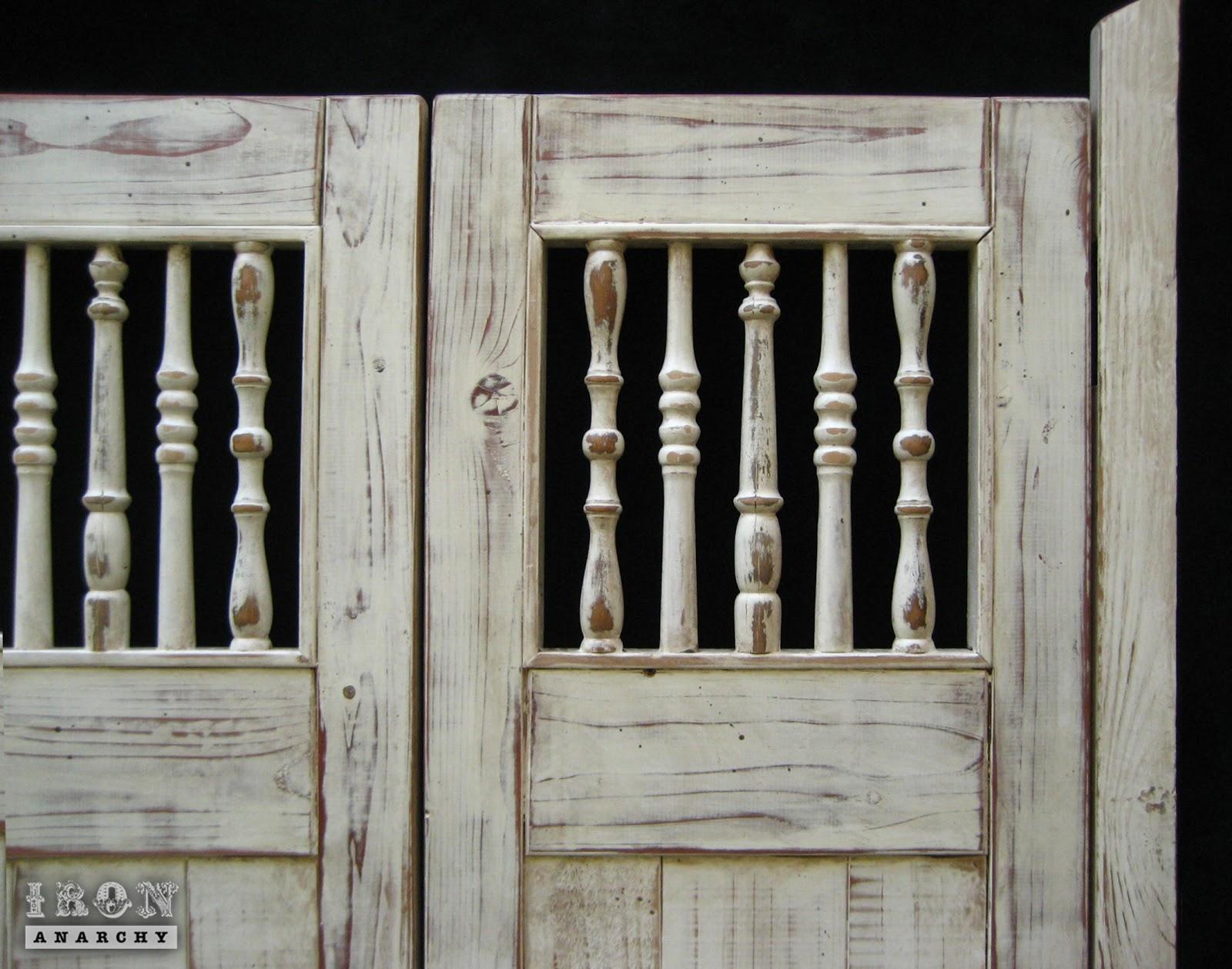 Handcrafted custom swinging saloon doors - Handcrafted Custom Swinging Saloon Doors 4