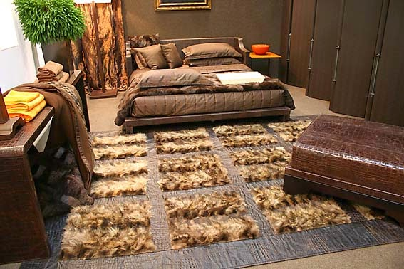 More attractive designs of fur for luxury apartment,Fur in interior,fur ideas ,fur designs, fashion and accessories from fur
